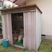 業務用厨房設備の処分&物置の解体
