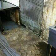 業務用冷蔵庫の解体