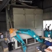 農機具の解体と搬出
