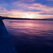 えべっさんの日の出と虹と鯛